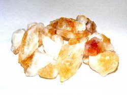 100Gms Citrine Natural Chunks In Pouch