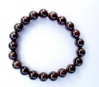 Garnet Power Bracelet - 10mm