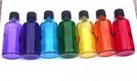 50mls Set of Chakra Coloured Aromatherapy Oil Bottles