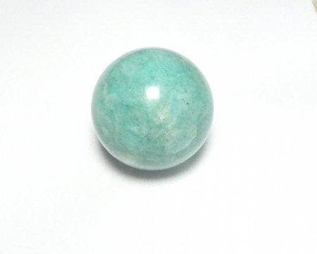 Amazonite Gemstone Orb Sphere - 30mm