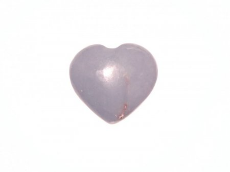 Angelite Polished Large Gemstone Crystal Heart 12