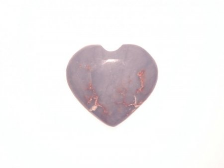 Angelite Polished Large Gemstone Crystal Heart 5