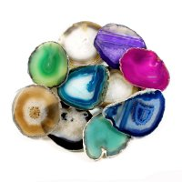 Agate Slice - Various Colours Available