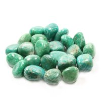 Amazonite Tumbled Gemstone - Medium
