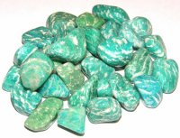 Amazonite Tumbled Gemstones - Set Of 5
