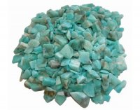 Amazonite Tumblestone Chips 50gram Pack