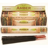 Amber Incense - box of 120 Sticks