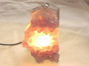 Amethyst Cluster Standing Lamp