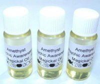 Amethyst Gemstone Oil for psychic Awareness