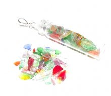 Andara Glass Spell Bottle Pendant
