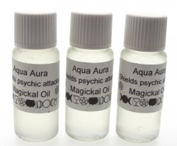 Aqua Aura Oil / Shields From Psychic Attacks