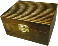 Aromatherapy Wooden Storage Box - Holds 12 bottles
