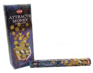 Attract Money Incense - Pack of 20
