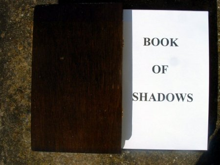 Handcrafted Wooden Book Of Shadows (Charcoal Finish)