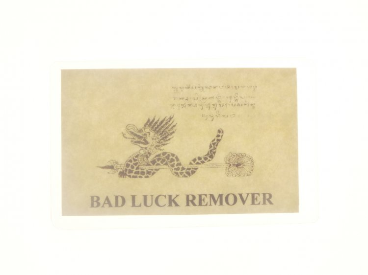 Bad Luck Remover Magickal Talisman Card