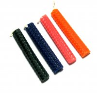 "Beeswax Spell Candles - 4"" - Various Colours"