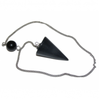 Black Obsidian Gemstone Cone Dowser