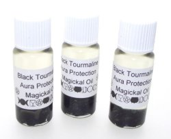 Black Tourmaline Oil 10Mls Removes Negative Energies