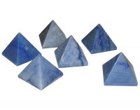 Blue Aventurine Gemstone Crystal Pyramid