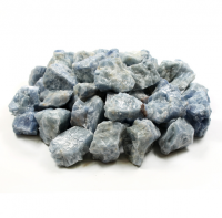 Blue Calcite Unpolished Gemstone