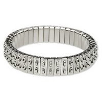 Stainless Steel Bracelet for charms and beads - double row