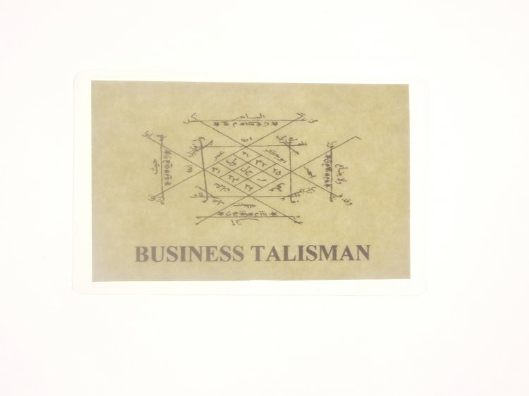 Business Talisman Magickal Talisman Card