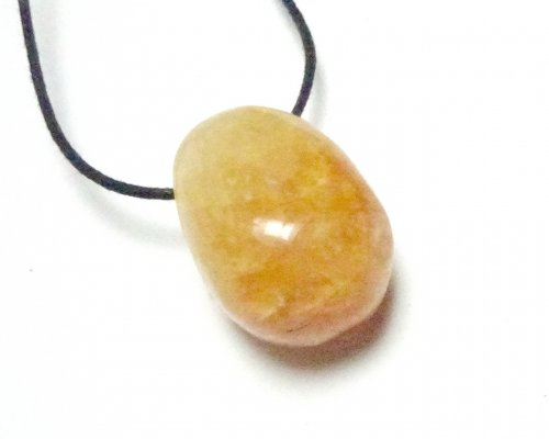 Calcite Tumblestone Polished Gemstone Pendant