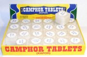 Box Of 96 Camphor Tablets