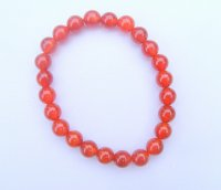 Carnelian Gemstone Crystal Power Bracelet