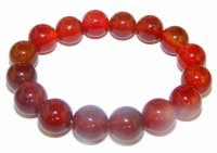 Carnelian Power Bracelet 12Mm Beads