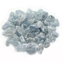 Celestite Set of 5 Small Gems / Crystals