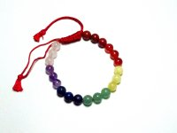 Assorted Gemstone Power Drawstring Bracelet
