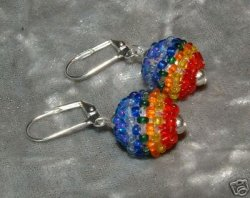 Chakra Earrings All 7 Colours