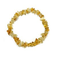 Citrine Gemstone Chip Bracelet -High Grade