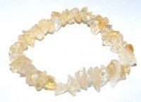 Citrine Gemstone Chip Bracelet