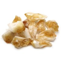 Citrine Gemstone Crystal Point - Large