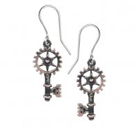 Clavitraction Cog Earrings