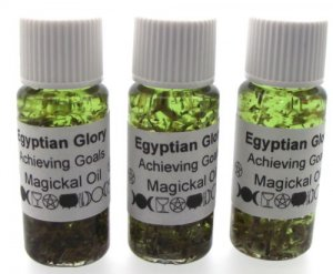 Egyptian Glory Herbal Infused Ritual Magical Oil