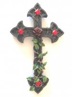 Eternal Love Wall Mounted Cross
