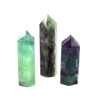 Fluorite Gemstone Standing Obelisk / Tower
