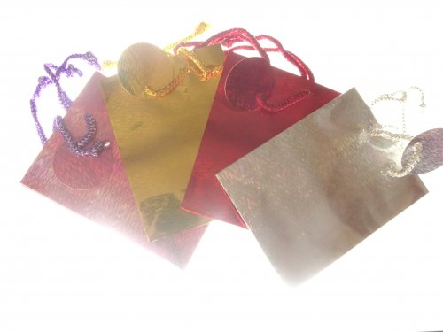 Holographic Gift Bag 14.5cm by 11cm