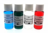 Full Set Of 4 Elemental Correspondence Oils