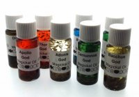 Full Set Of 8 God Herbal Infused Botanical Oil