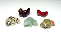 Garden Creatures Gemstone Carving