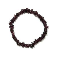 Garnet Chip Gemstone Chip Bracelet