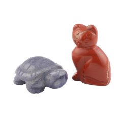 Animal Gemstone / Crystal Carvings - 35mm - Various Types Available
