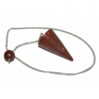 Goldstone Gemstone / Crystal Cone Dowser