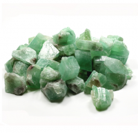 Green Calcite Unpolished Gemstone
