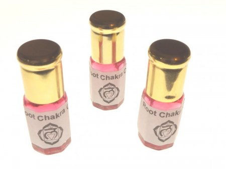 Chakra Roll On Glass Bottle Oil - Heart