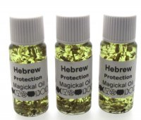 Hebrew Herbal Infused Ritual Magical Oil